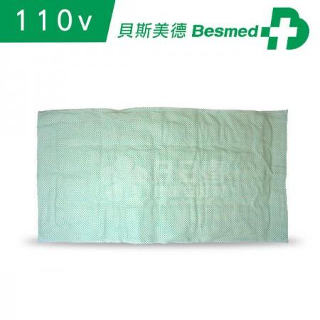 【貝斯美德】濕熱電熱毯 熱敷墊 (14x27吋 腰背部/大面積,110V電壓)