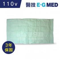 【醫技】動力式熱敷墊-濕熱電熱毯(14x27吋 腰背部/大面積,110V電壓)