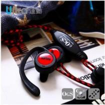【TOPLAY聽不累】運動風格耳機 懸浮式 赤黑 H132
