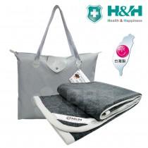 【H&H南良】遠紅外線蓄熱保暖健康毯 (免插電)