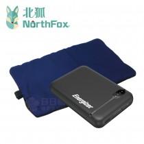 NorthFox北狐 USB暖暖包行動電源組(Energizer勁量行動電源UE5004)