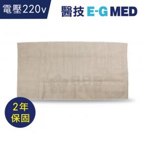 醫技 動力式熱敷墊-濕熱電熱毯(14x27吋 腰背部/大面積,220V電壓)